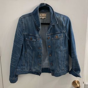 Madewell Medium Wash Denim Jacket